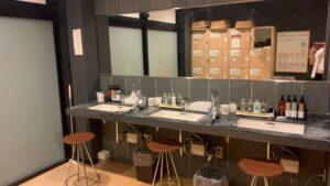 洗面化粧台もオシャレ